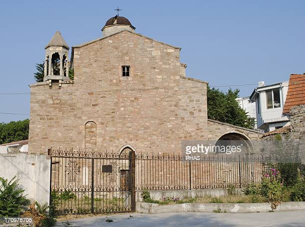 Ukraine Autonomous Republic of Crimea Feodosiya Armenian Church of Archangels Michael and Gabriel 15th century Restored at 20th century Exterior