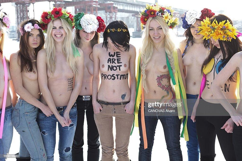 About Femen Ukrainian Women Organization 86