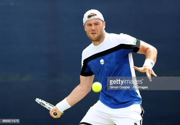 Ukraine's Illya Marchenko during day three of the AEGON Open Nottingham at Nottingham Tennis Centre PRESS ASSOCIATION Photo Picture date Wednesday...