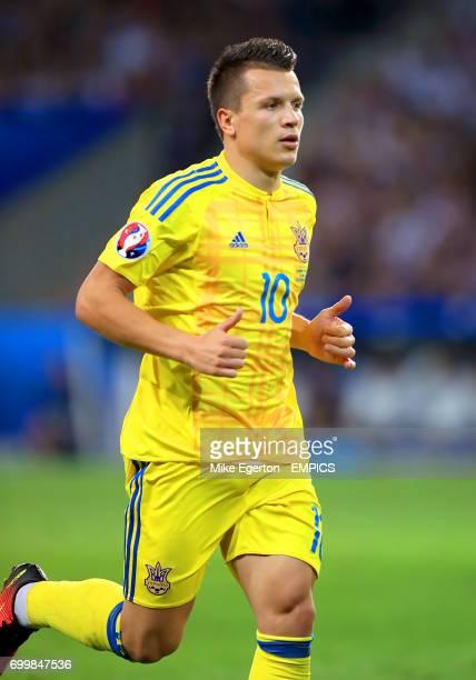 Ukraine's Yevhen Konoplyanka