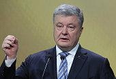 UKR: Ukrainian President Poroshenko Press-conference In Kiev