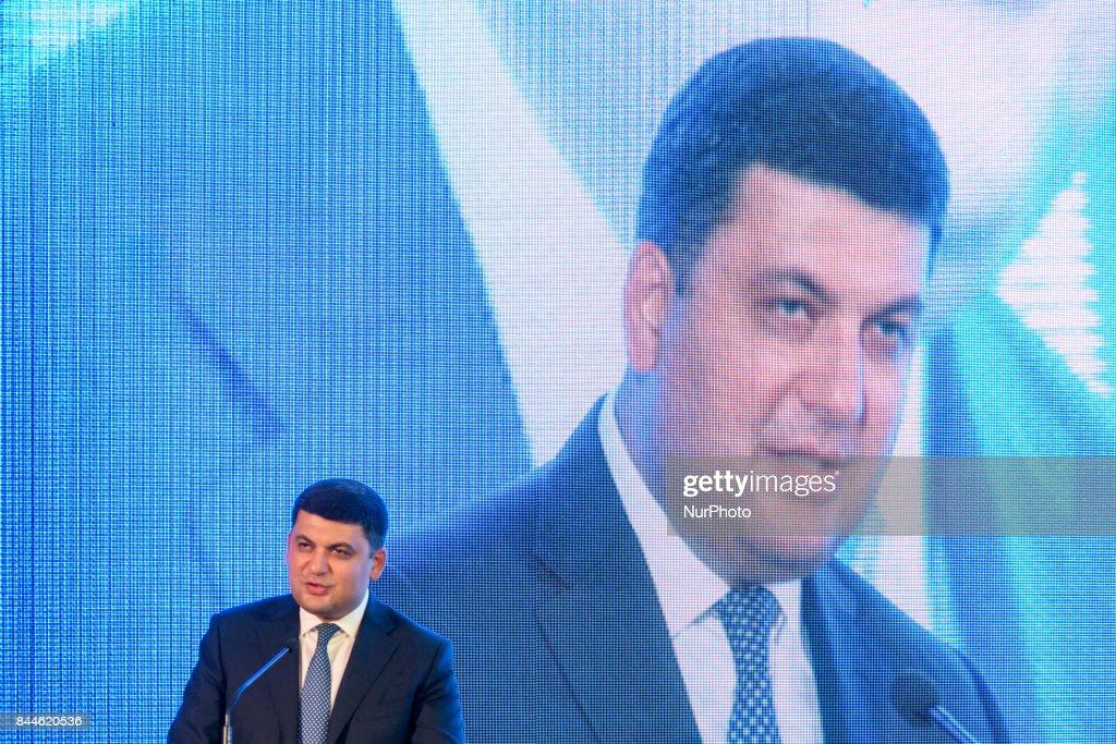 Ukrainian PM Volodymyr Groysman meets Moldovan PM Pavel Filip