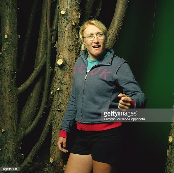 Ukrainianborn British tennis player Elena Baltacha circa 2010