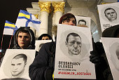 UKR: Rally To Support Of Ukrainians arrested In Russia