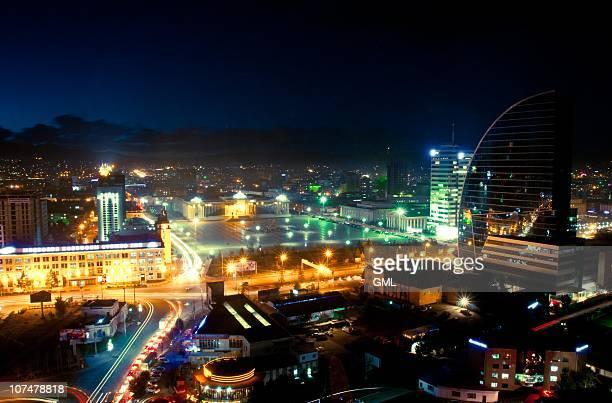 Ulaanbaatar night shot
