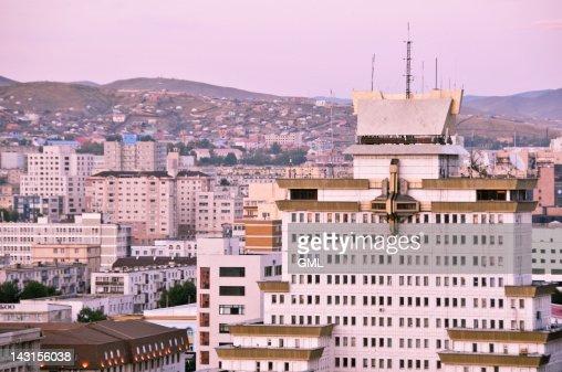 Ulaanbatar city buildings