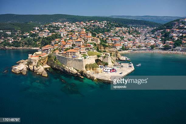Ulcinj, Montenegro (aerial view)