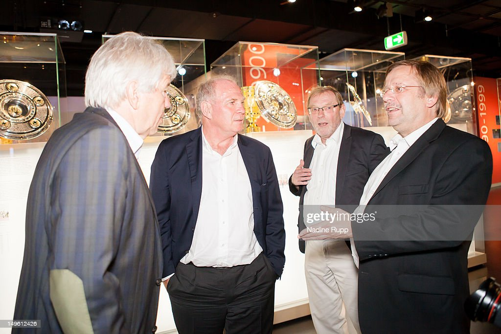 Fc bayern erlebniswelt opening ceremony getty images for Koch fc bayern