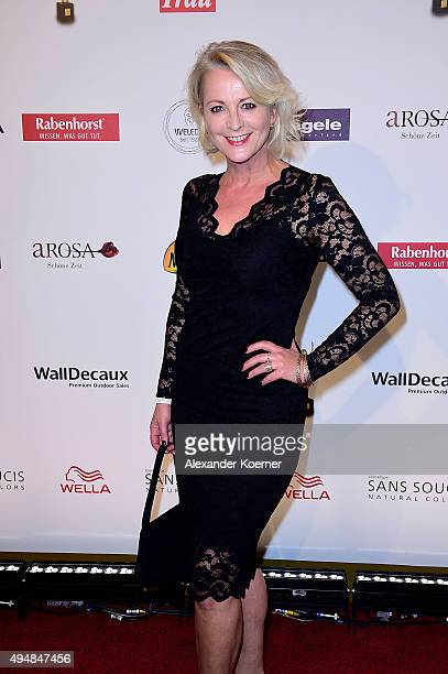 Ulla Kock am Brink attends the 'Goldene Bild Der Frau' Award 2015 at Stage Operettenhaus on October 29 2015 in Hamburg Germany