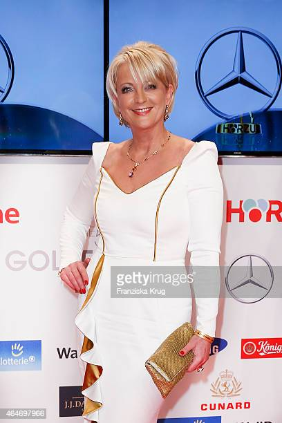 Ulla Kock am Brink attends the Goldene Kamera 2015 on February 27 2015 in Hamburg Germany