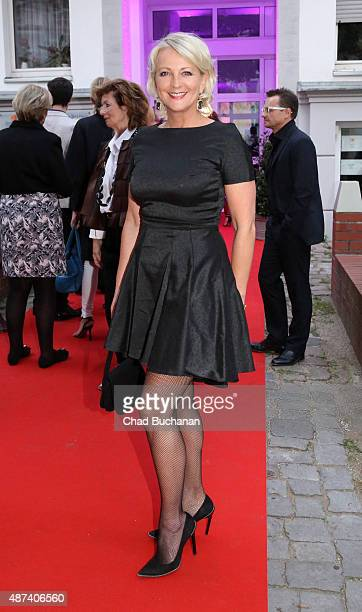 Ulla Kock am Brink attends the House Of Marcell von Berlin Grand Opening on September 9 2015 in Berlin Germany