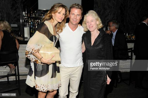 Ulla Parker Adam Lippes and Angela Westwater attend ABY ROSEN PETER BRANT ALBERTO MUGRABI Dinner at W SOUTH BEACH at W SOUTH BEACH on December 3 2009...