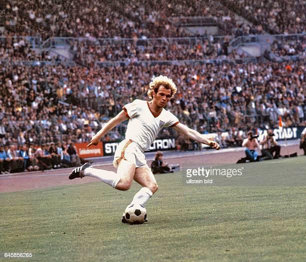 Ulli Ulrich Hoeneß von Bayern München Aus BL Spiel Saison 1970/1971 Hanover 96 gegen Bayern München 22 im Niedersachsenstadion