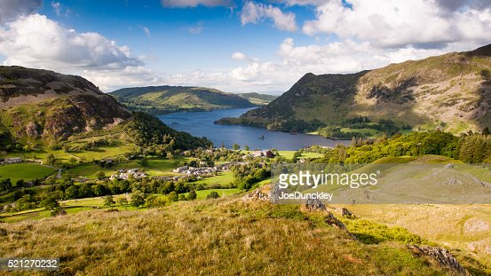 Ullswater at Glenridding : Stock Photo