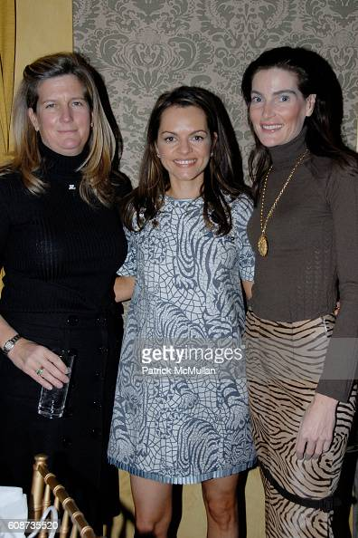 Ulrica Lanaro and Lydia Fenet attend MARIA HATZISTEFANIS presents GLAMOTOX at a glamorous upper east side luncheon at The Carlyle on December 3 2007...