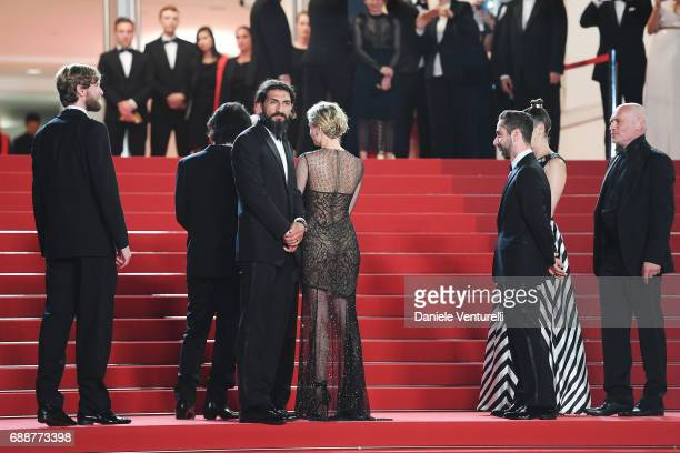 Ulrich Brandhoff director Fatih Akin Numan Acar Diane Kruger Denis Moschitto Samia Muriel Chancrin and Johannes Krisch attends the 'In The Fade '...