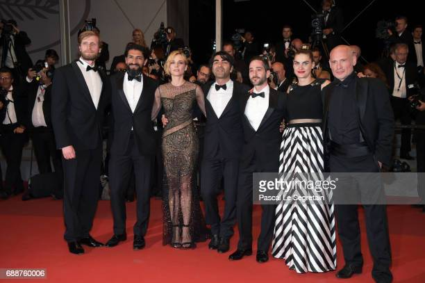 Ulrich Brandhoff Numan Acar Diane Kruger director Fatih Akin Denis Moschitto Samia Muriel Chancrin and Ulrich Brandhoff attend the 'In The Fade '...