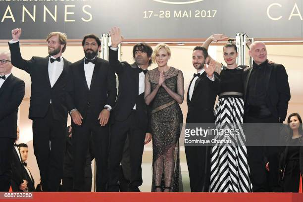 Ulrich Brandhoff Numan Acar director Fatih Akin Diane Kruger Denis Moschitto Samia Muriel Chancrin and Johannes Krisch attend the 'In The Fade '...