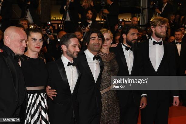 Ulrich Brandhoff Numan Acar director Fatih Akin Diane Kruger Samia Muriel Chancrin Johannes Krisch and Denis Moschitto attend the'In The Fade '...