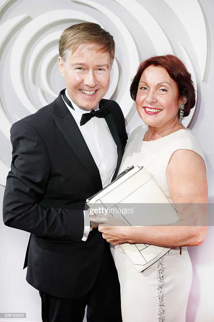 Ulrich Meyer and his wife Georgia Tornow attend the Rosenball 2016 on April 30, 2016 in Berlin, Germany.