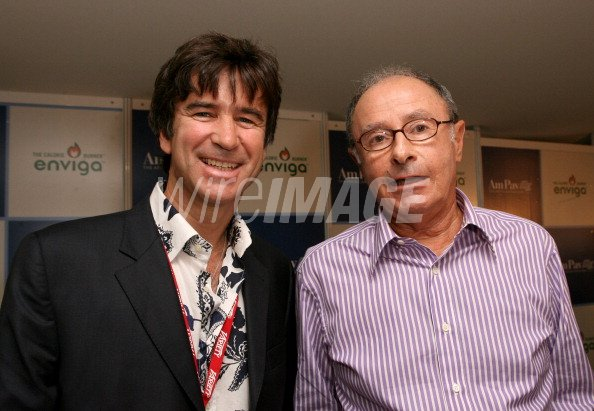 Ulrich Schmid Maybach and Peter Bart during 2007 Cannes Film ...