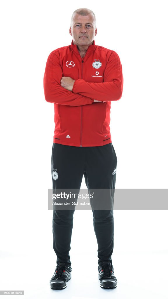 Ulrich Schmieden poses during the DFB Ladies Marketing Day on June 20, 2017 in Frankfurt am Main, Germany.