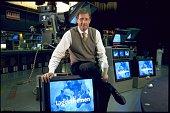 Ulrich Wickert *Journalist Autor DNachrichtensprecher der ARD Tagesthemenim Fernsehstudio