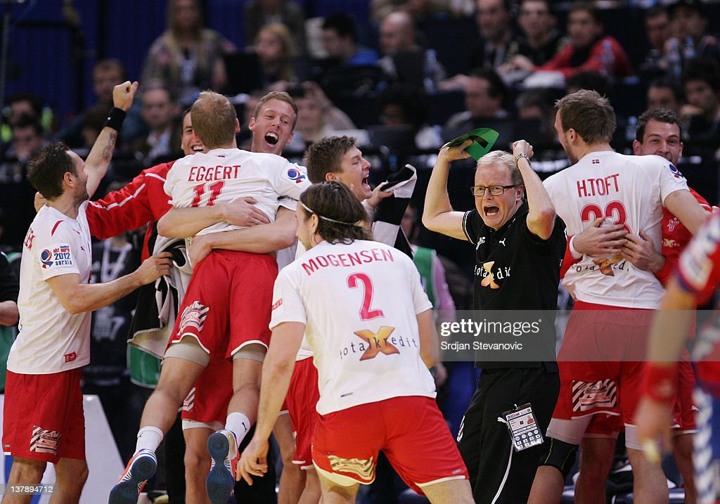 Serbia v Denmark - Final - Men's European Handball Championship 2012