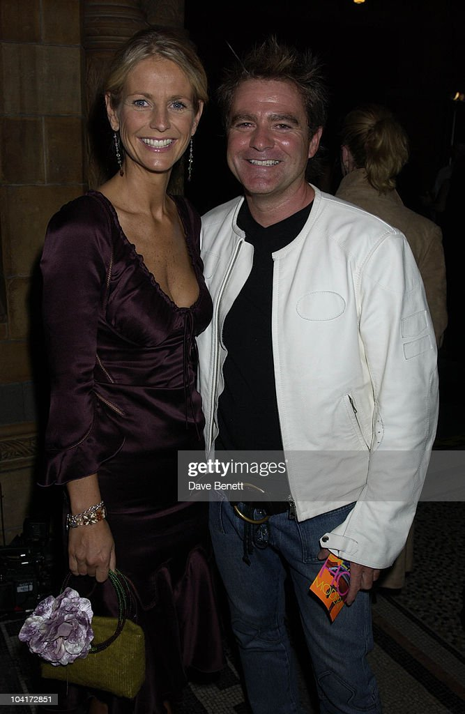 Ulrika Jonnson & Simon Cowell, Elle Style Awards Held At The Natural History Museum In London.