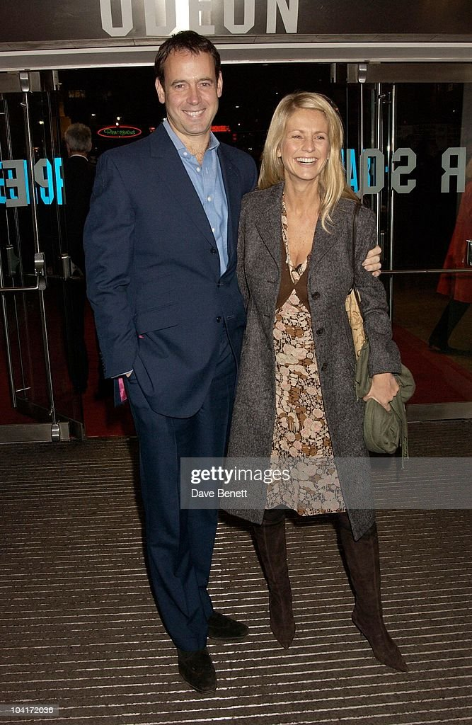 Ulrika Jonsson And Lance Gerrard, Wright, Love Actually Movie Premiere At The Odeon Leicester Square, London