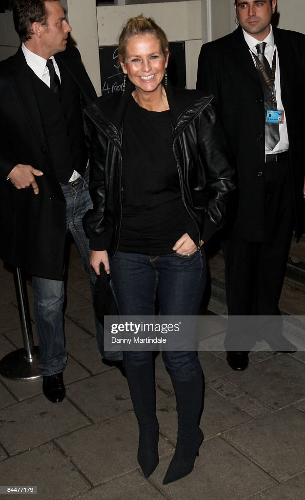Ulrika Jonsson attends the Celebrity Big Brother Wrap Party at Sway in Holburn on January 26, 2009 in London, England.