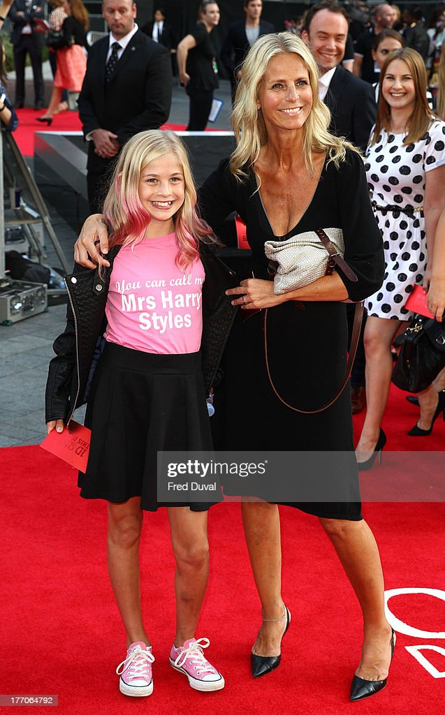 <a gi-track='captionPersonalityLinkClicked' href=/galleries/search?phrase=Ulrika+Jonsson&family=editorial&specificpeople=212734 ng-click='$event.stopPropagation()'>Ulrika Jonsson</a> attends the World Premiere of 'One Direction: This Is Us' at Empire Leicester Square on August 20, 2013 in London, England.