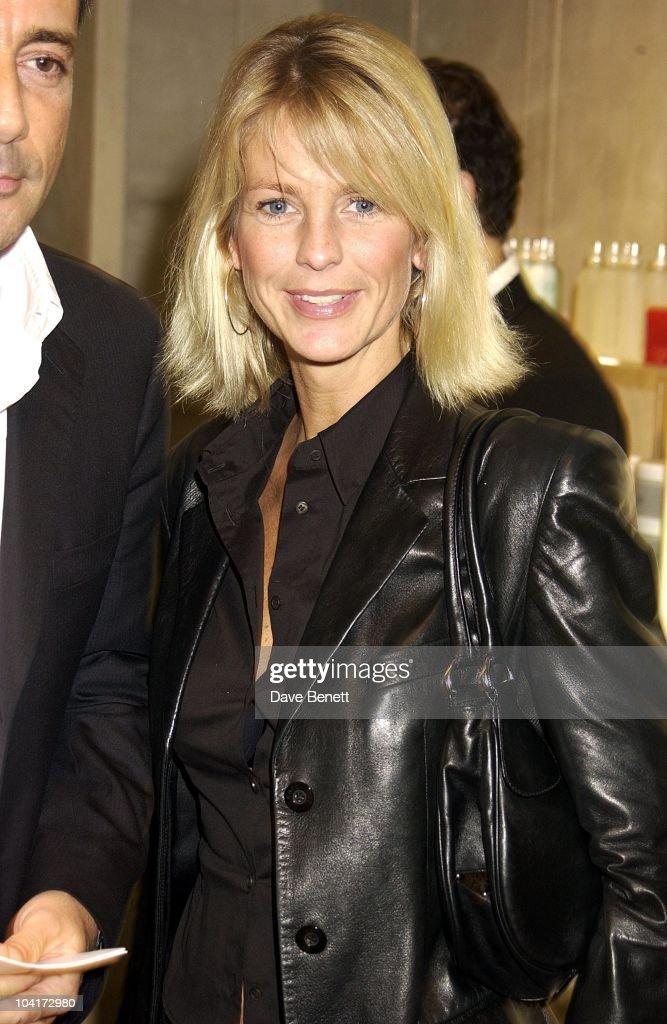 Ulrika Jonsson, Russell Crowe Oscar Nomination Cocktail & Dinner Party, New Giorgio Armani Shop, Bond Street & Supper & Hakkasan, London.