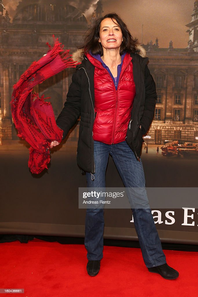 Ulrike Folkerts attends 'Nacht Ueber Berlin' Preview at Astor Film Lounge on January 31, 2013 in Berlin, Germany.