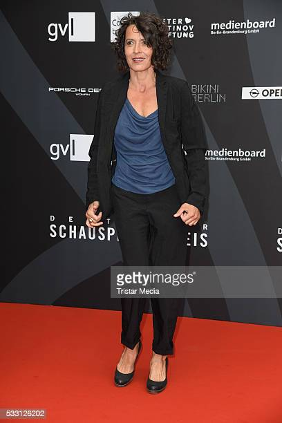 Ulrike Folkerts attends the Deutscher Schauspielerpreis 2016 on May 20 2016 in Berlin Germany
