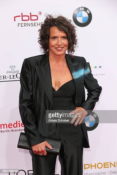 Ulrike Folkerts attends the Lola German Film Award 2016 on May 27 2016 in Berlin Germany