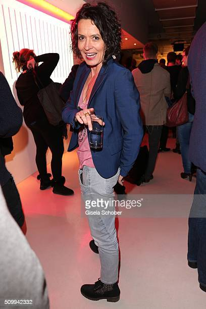 Ulrike Folkerts attends the LOLA reception during the 66th Berlinale International Film Festival Berlin on February 12 2016 in Berlin Germany