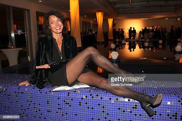 Ulrike Folkerts during the ARD advent dinner hosted by the program director of the tv station Erstes Deutsches Fernsehen at Hotel Bayerischer Hof on...