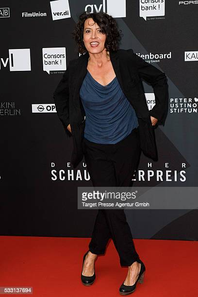 Ulrike Folkerts during the Deutscher Schauspielerpreis on May 20 2016 in Berlin Germany