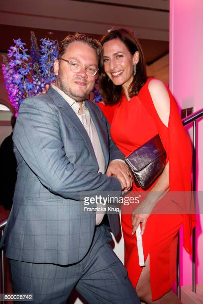 Ulrike Frank and Marc Schubring attend the 'Bertelsmann Summer Party' at Bertelsmann Repraesentanz on June 22 2017 in Berlin Germany