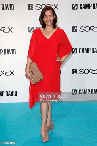 Ulrike Frank attends the Camp David And Soccx Fashion Night 2013 at Event Island Berlin on July 3 2013 in Berlin Germany