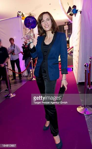 Ulrike Frank attends the German Soap Award 2012 at Kosmos Kino on October 26 2012 in Berlin Germany