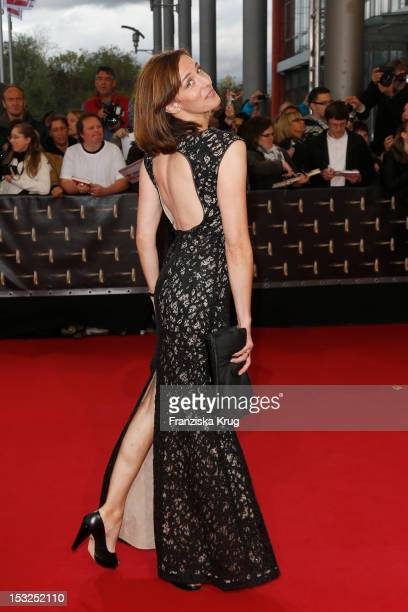Ulrike Frank attends the German TV Awards 2012 at Coloneum on October 2 2012 in Cologne Germany