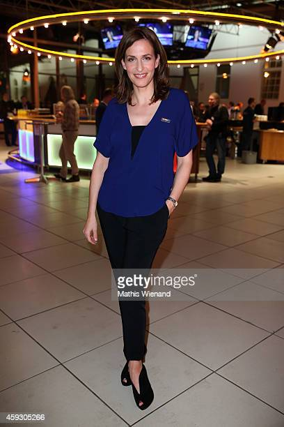 Ulrike Frank attends the RTL Telethon 2014 on November 20 2014 in Cologne Germany