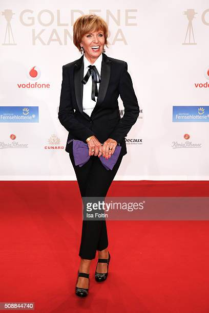 Ulrike Kriener attends the Goldene Kamera 2016 on February 6 2016 in Hamburg Germany