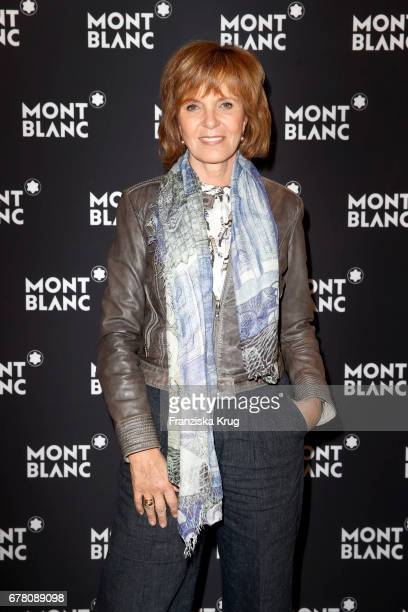 Ulrike Kriener attends the Montblanc spring party on May 3 2017 in Munich Germany