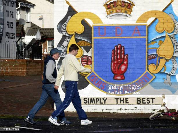 A Ulster Defence Association mural on the Shankill Road Belfast A series of bomb alerts have caused major traffic disruption in several parts of...