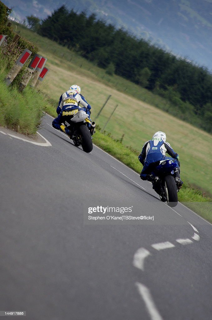 Ulster grand prix road race : Stock Photo