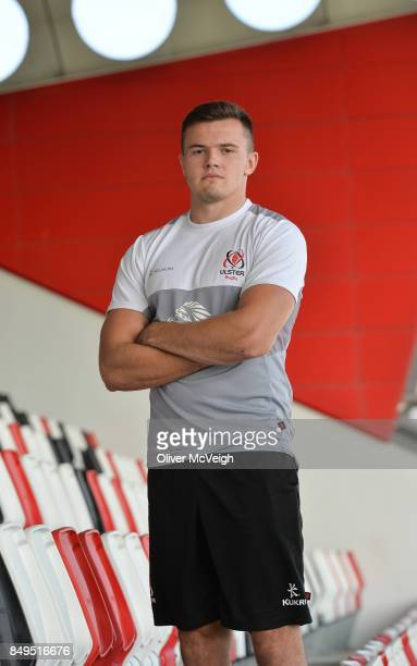 Ulster Ireland 19 September 2017 Jacob Stockdale of Ulster after the Press Conference at the Kingspan Stadium in Belfast