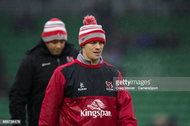 Ulster Rugby's Assistant Coach Dwayne Peel during the European Rugby Champions Cup match between Harlequins and Ulster Rugby at Twickenham Stoop on...